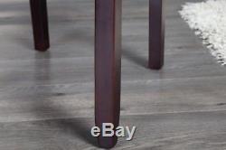 2 Stühle im Set NEAPEL coffee Vintage Look Stuhl Esszimmerstuhl Sitz Stuhl Küche
