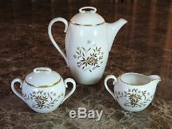 37pc Vintage Lenox China STARLIGHT Service for 8, with Coffee Set & Serving Dishes