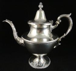 3pc. Vintage Sterling Tea /Coffee Set. M. Fred Hirsch Co. Early 20th cent. 10