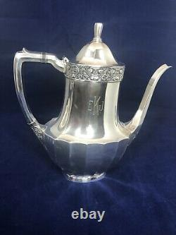 5 Piece Vintage COMMUNITY PLATE Silverplated Tea/Coffee Serving Set WithTray