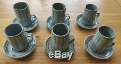 Arch Pottery St. Ives Cornwall vintage coffee set