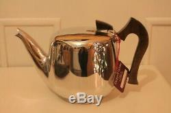 Beautiful New Rare Unused Boxed Vintage Picquot Ware Tea / Coffee Set With Tray