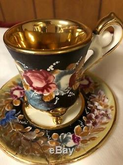 Capodimonte Vintage Cappuccino set with coffee pot. Serves 12. Never used