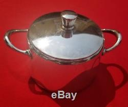 Christofle Vintage Silver Antique Art Euro Deco Tray Coffee Tea Sugar Milk Set