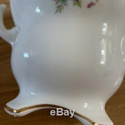 Coalport Junetime Vintage English Bone China Coffee Set