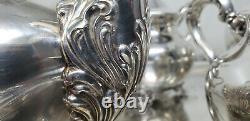 EPCA OLD ENGLISH Silver Plateby Poole 5000 / Vintage Tea-Coffee Set 1930's