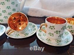 Elegant Vintage Irish Tea and Coffee Set for Six Arklow Patricia & Ironstone