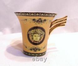 European Vintage/Retro Style Fine Porcelain Medusa Coffee/Tea 15 Pieces Set New