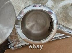 FABULOUS Vintage Picquot Ware 5 piece Tea Coffee Set with tray in original box