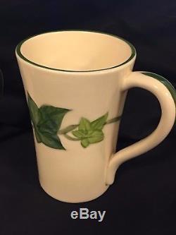 Franciscan Ivy Irish Coffee Mugs Set Of 3 California USA Vintage Rare