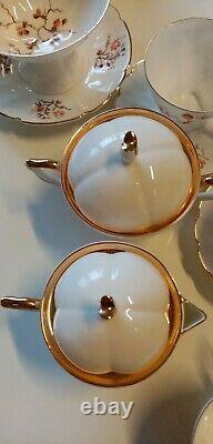 Jiesia USSR Lithuanian vintage porcelain coffee set