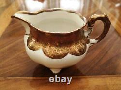 KÖNIGSZELT China Vintage Coffee Set for 9 persons, around Year 1920