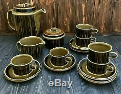 Kosmos Arabia Finland Vintage porcelain coffee set antique cup plate bowl