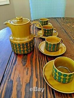 Melitta Germany Vintage Breakfast Coffee Set Copenhagen 1960's Mid Century Mod