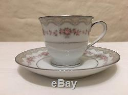 NORITAKE GLENWOOD 5770 Vintage Porcelain Tea Or Coffee Pot Set 15 Piece