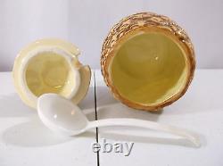 RARE VTG 5 Piece 1985 Otagiri Japan Hand Crafted Pineapple Coffee Tea Set
