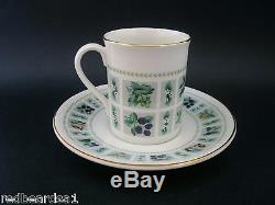 ROYAL DOULTON TAPESTRY COFFEE SET for 8 Vintage English China Retro c1960s