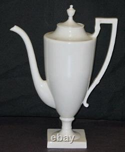 Rare! Vintage Lenox China Colonial Coffee Pot Creamer & Sugar Set Mint