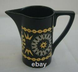 Rare Vintage Portmeirion Coptic Brocade Coffee Set 15 Pieces