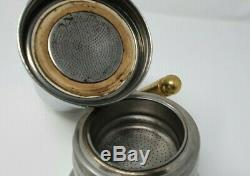 Rare stylish vintage VEV inox coffee set with tray