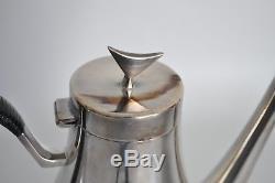 Reed Barton Vtg Mid Century Modern Silver Coffee Service Set Pot Pitcher Denmark