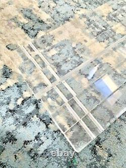Replacement Set 6 Lucite Milo Baugman Style Coffee Table Legs And Screws Vintage
