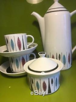 Rorstrand Tango Coffee Set Marianne Westman Design 1950s Vintage Design