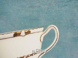 Royal Doulton VINTAGE Tea Coffee SET Gold Encrusted edges Cream 1938 RARE V1926