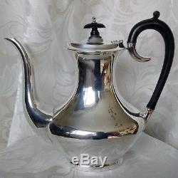 SILVER PLATED EPNS Vintage Tea & Coffee Service 4 Piece Set Pots + Milk & Sugar