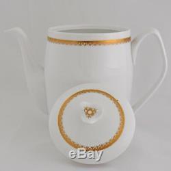 Spode Tea Pot Coffee Set Elizabethan Vintage China Sugar Creamer Y7842 20 Pieces