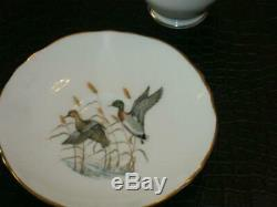 Stunning Vintage 11 Piece Porcelain Coffee Set