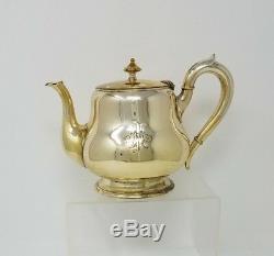 Tea Set Coffee Service Silver Plate J L HERRMANN Vienna Austria Vintage