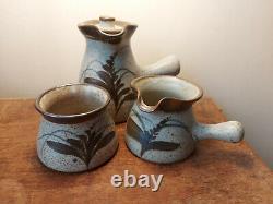 Unused Immaculate Vintage David Leach Lowerdown Studio Pottery Coffee Set