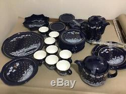 VINTAGE WAECHTERSBACH Germany Winter Dreams Tea / Coffee Set Of 40 Pieces