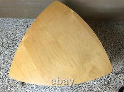 VTG Modern Set of 3 Tables Coffee Side Blonde Wood Space Age BDI Becker Designed