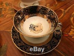 Vintage 13 cups 13 saucers 1 extra cup German Bavaria Porcelain Coffee Set