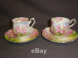 Vintage 15 Piece Royal Albert Blossom Time Coffee Set Coffee Pot Sugar Milk