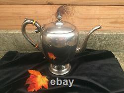Vintage 1940's Preisner Sterling Silver 3 Piece Coffee Tea Set #706