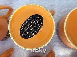 Vintage 1970s Portmeirion pottery coffee set Greek Key by Susan Williams Ellis