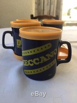 Vintage 1979 Dinky Toys/Meccano Ironstone Coffee Mug Set by Kiln Craft