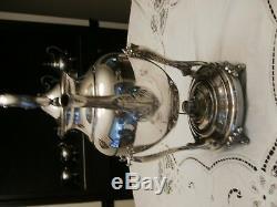 Vintage 6 Piece Silver on Copper Tea/Coffee Set
