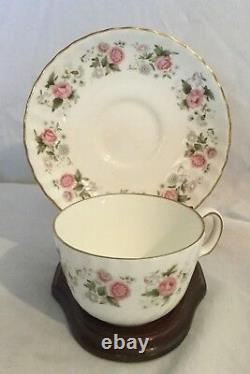 Vintage Antique Minton Tea Coffee Set 23 Pcs Spring Bouquet Plate Cup Service 4