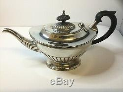 Vintage Art Deco Silver Plated Tea/Coffee Set 5 Items E H PARKIN & Co c1920-1930