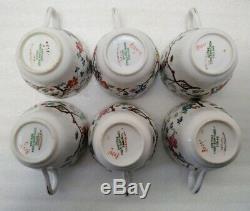 Vintage Copeland Spode Shanghai Demitasse Coffee Set 17 Pcs