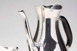Vintage Danish Silver Plated Coffee Set Carl M Cohr C. 1950