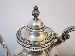 Vintage Fisher Sterling Silver Coffee Set Coffeepot Sugar Creamer 37+ oz