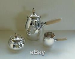 Vintage Georg Jensen Sterling Silver Large Coffee Set 80 B/C