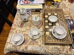 Vintage HEREND HUNGARY SET COFFEE/TEA