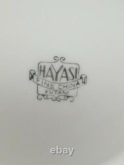 Vintage Hayasi Kutani Fine China Tea / Coffee Set 22 Pieces