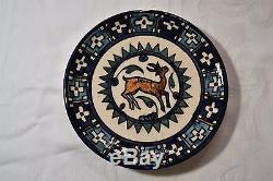 Vintage Jerusalem Armenian Karakashian Balian Ceramic Pottery Tea/Coffee Set